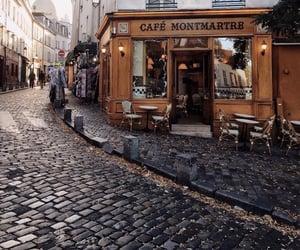 city, cafe, and theme image