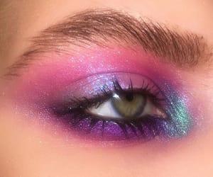 eyeshadow, glam, and make up image