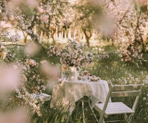 dreamy, flowers, and garden image