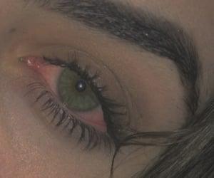 aesthetic, green eyes, and grunge image