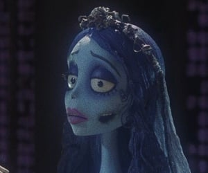 aesthetic, corpse bride, and emily image