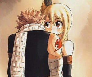 fairy tail, natsu, and Lucy image