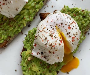 aesthetic, avocado, and bread image
