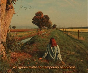 autumn, happiness, and quote image