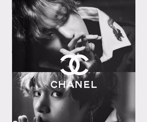 black, chanel, and edit image