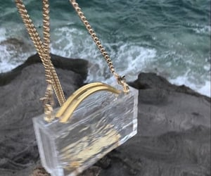 bag, fashion, and sea image
