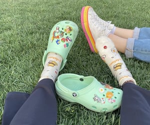 aesthetic, artsy, and crocs image