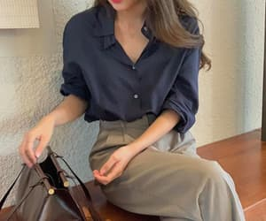 business casual, casual, and clothes image