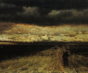 giuseppe de nittis, sun in pisces, and the approach of the storm image