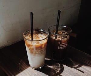 coffee, drink, and iced coffee image
