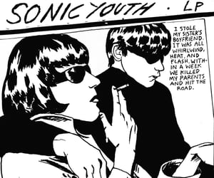 sonic youth, goo, and music image