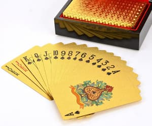 playing cards, aesthetic, and art image