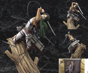 action figure, levi rivaille, and attack on titan image