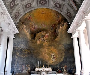 18th century, fresco, and painting image