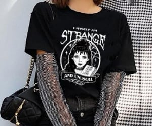 aesthetic, goth, and grunge image