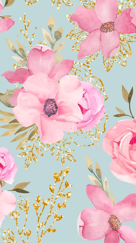 background, wallpaper, and floral wallpaper image