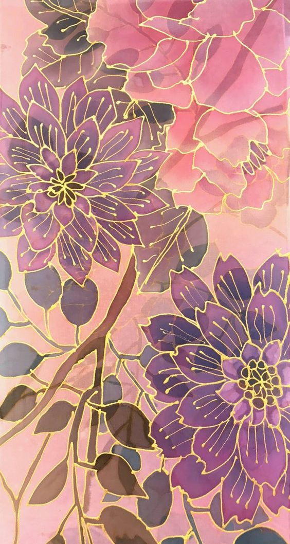 art, background, and floral wallpaper image