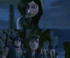 astrid, hiccup, and hiccstrid image