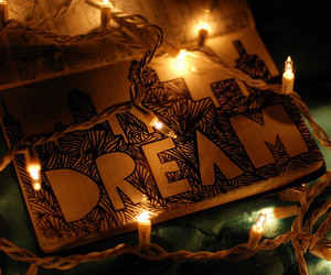 drawing, Dream, and lights image
