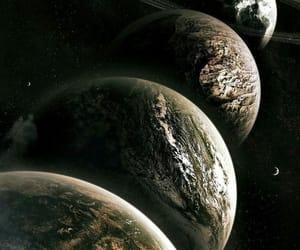galaxia, planeta, and universo image