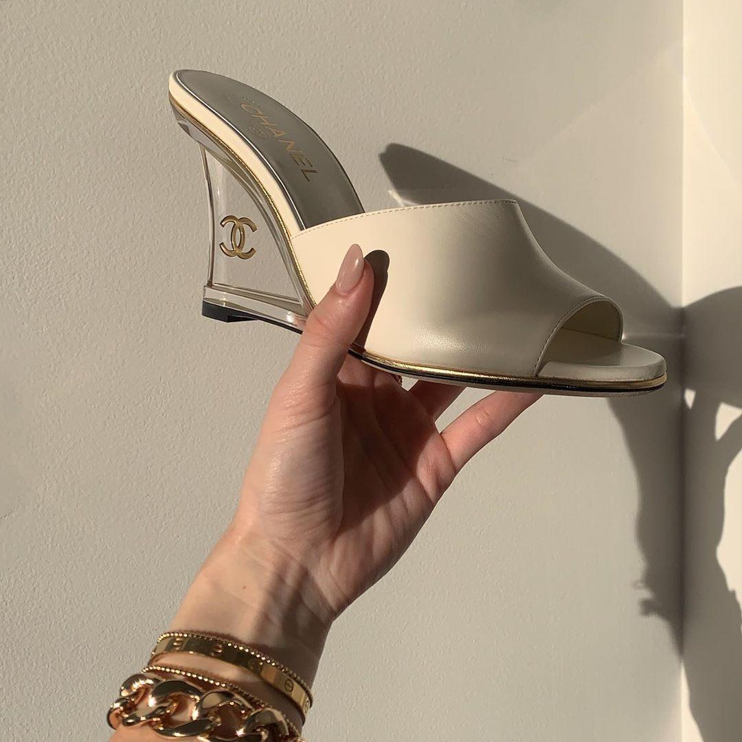 beige, heels, and cute image
