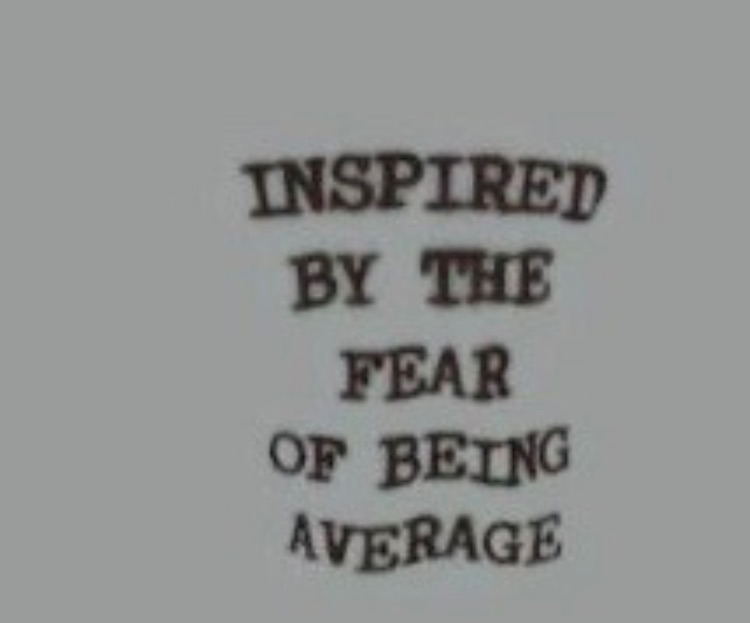 quotes, average, and fear image