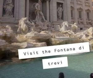 italy, rome, and fontana di trevi image
