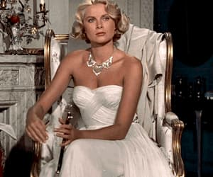 alfred hitchcock, grace kelly, and movies image