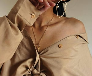accesories, beige, and brown image