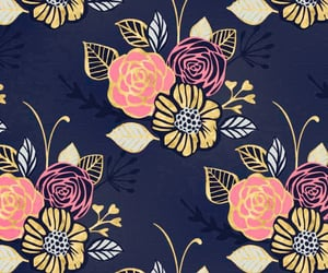background, floral wallpaper, and wallpaper image