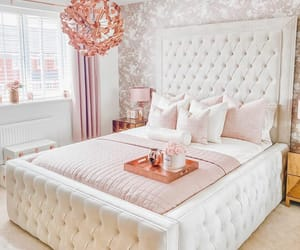 fashion, pink, and home house interior image