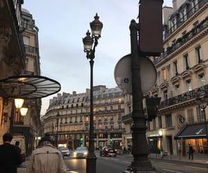 city, paris, and street image