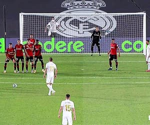 real madrid, sergio ramos, and free kick image