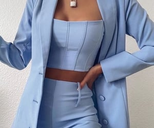 clothes, fashion, and blue image
