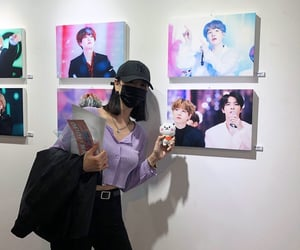 aesthetic, korean, and bts image