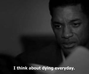 dying, movie, and seven pounds image