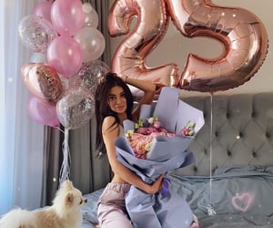 luxury, rose, and birthday image