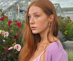 beauty, fashion, and flor image