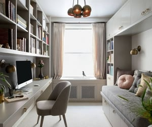 guest bedroom, home office, and inspiration image