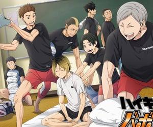 anime, hinata, and volleyball image