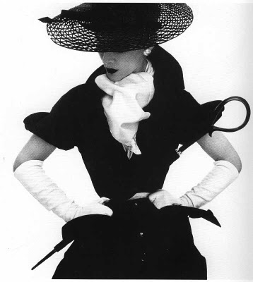 fashion, black and white, and vintage image