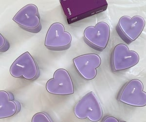 purple, aesthetic, and candle image