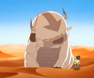 toph, avatar, and appa image