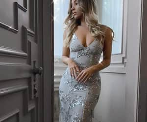 evening dress, prom dresses, and formal dress image