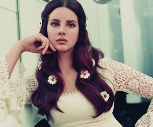 lana del rey, music, and flowers image