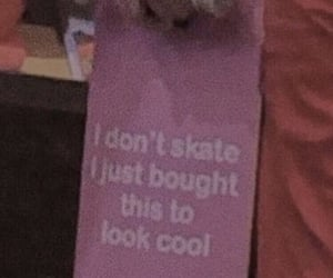 cool, pink, and skateboard image