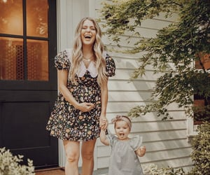 baby, beauty, and dress image