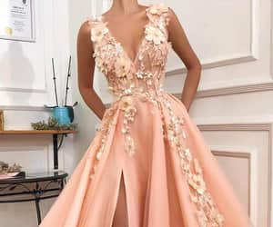 evening dress, formal dress, and Prom image