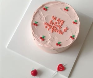 cake, aesthetic, and sweet image