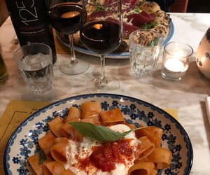 pasta, food, and pizza image